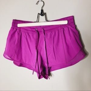 LuluLemon Athletic Shorts Pink Size 12